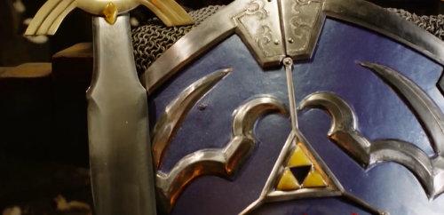 「ゼルダの伝説」のハイリアの盾を、いつもの本物の鍛冶屋が制作 「ゼルダの伝説」のハイリアの盾を制