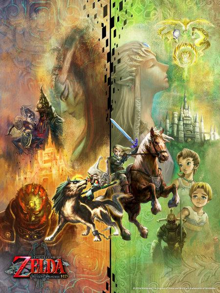 WiiU「ゼルダの伝説 トワイライトプリンセス HD」の壁紙が配布中