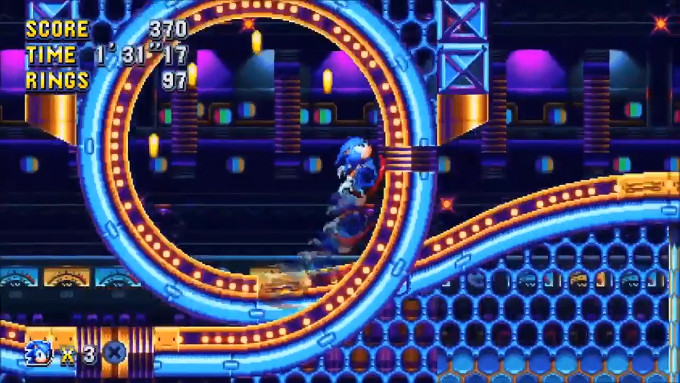 「Sonic Mania」は、初期の2D横スクロールタイプの新作となっており、ソニック、テイルス、ナックルズの3キャラクターが使用可能であることなどが発表