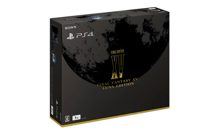 「PlayStation 4 FINAL FANTASY XV LUNA EDITION」の予約が開始