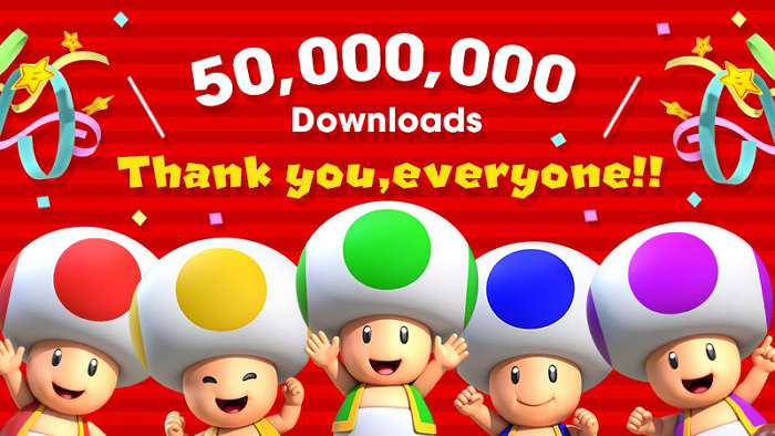 スーパーマリオラン、iOS版だけで1億ダウンロード可能との見方。今後、年に数本のスマホゲーム配信予定
