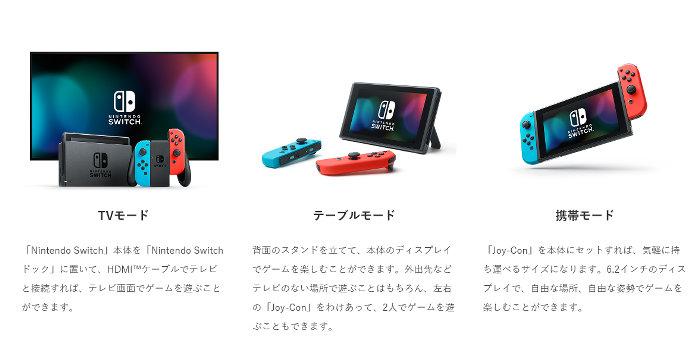 「Nintendo Switch プレイスタイル」の画像検索結果