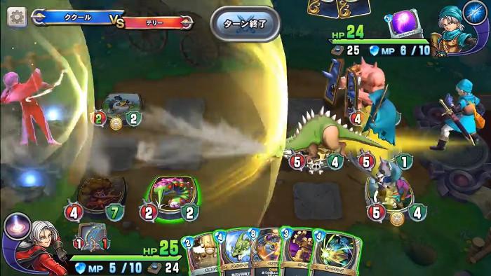 今回のゲームは、「ドラゴンクエストライバルズ」という名称でリリースされ、ゲーム内容はアレっぽい感じ