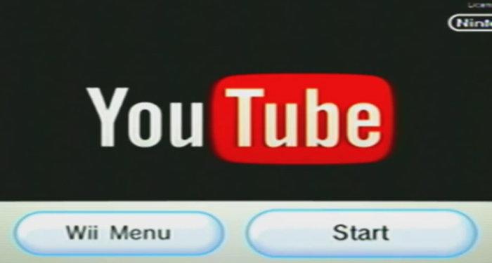 Youtube、Wii用のアプリのサポートが終了へ。見れなくなる?