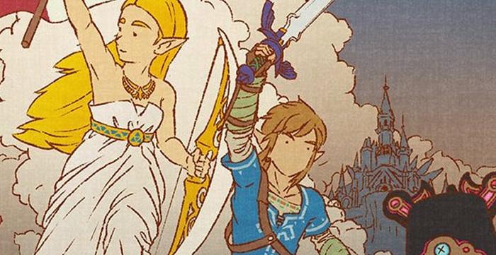 ゼルダ の 伝説 ブレス オブザ ワイルド イラスト