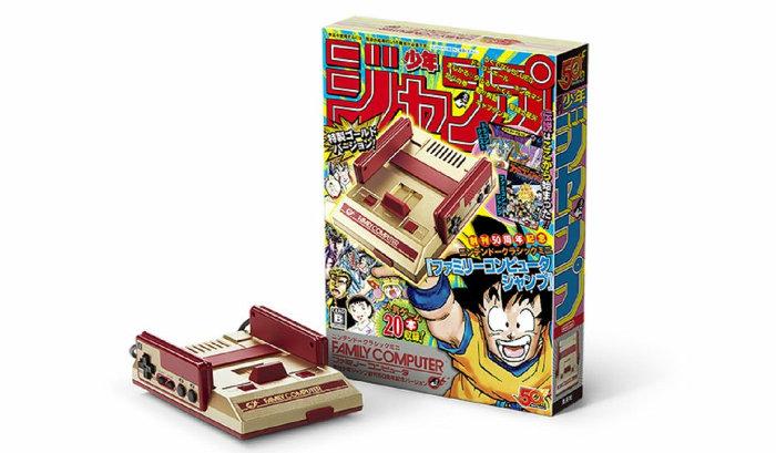 「ニンテンドークラシックミニ ファミリーコンピュータ 週刊少年ジャンプ創刊50周年記念バージョン」は、任天堂が2016年に発売したミニファミコンの第2弾