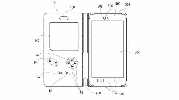 任天堂のスマートデバイスの特許