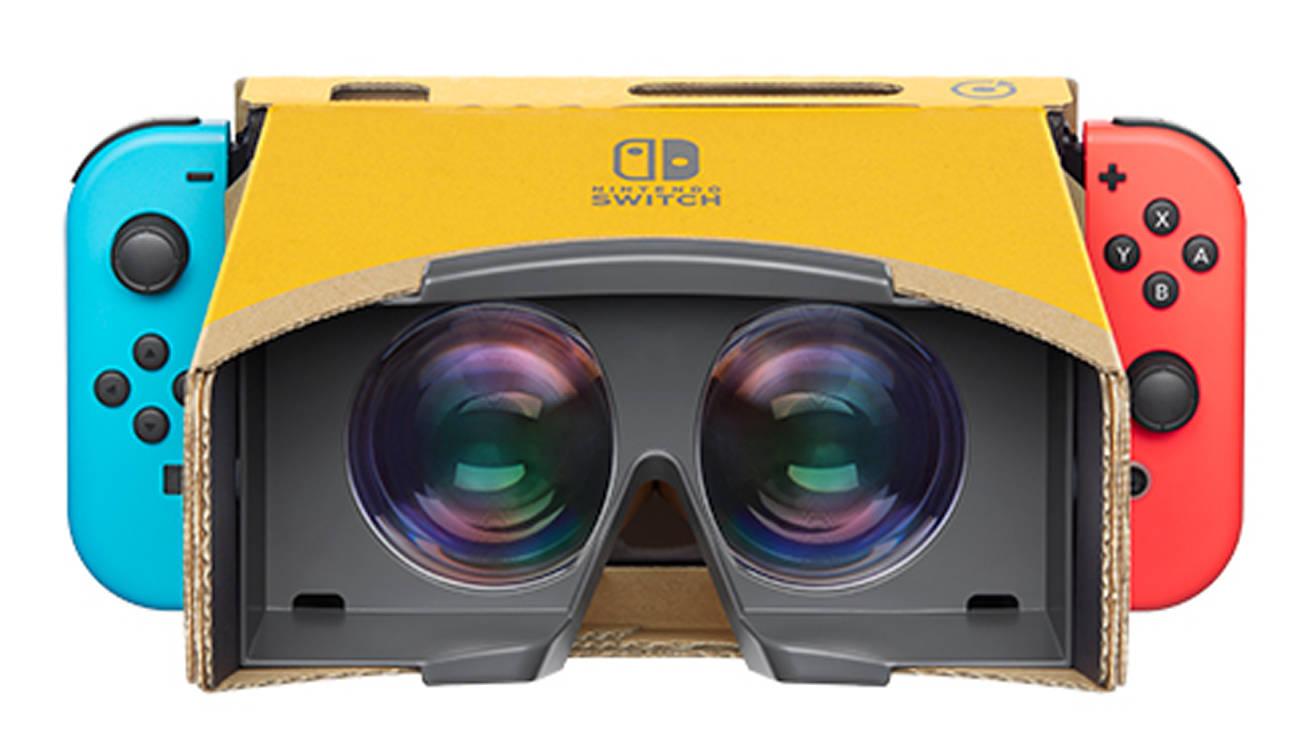 任天堂、VRを発表。レンズ付きゴーグルを手に持って操作する仕様に