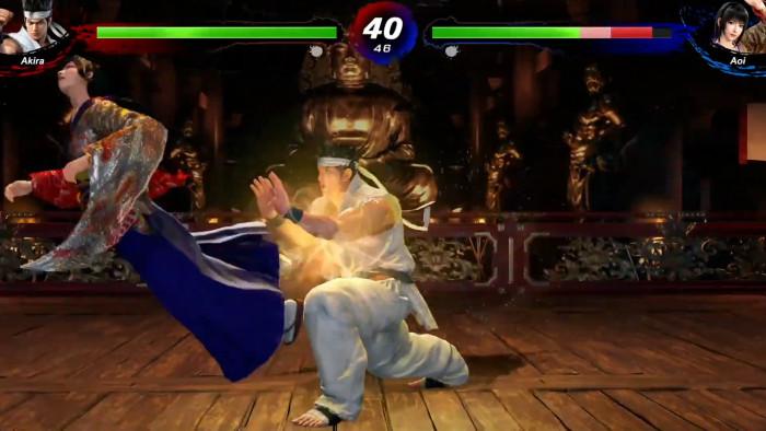 セガは、バーチャファイターの新作として、上のような「Virtua Fighter5 Ultimate Showdown」というゲームを発売