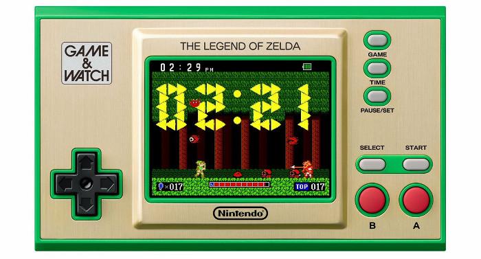 初代「ゼルダの伝説」をテーマにしたデジタル時計も収録されており、12時間かけてリンクがガノンを倒すまでの冒険を追う内容