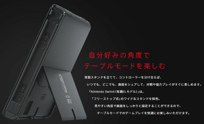 任天堂が、「Nintendo Switch(有機ELモデル)」というものを発表