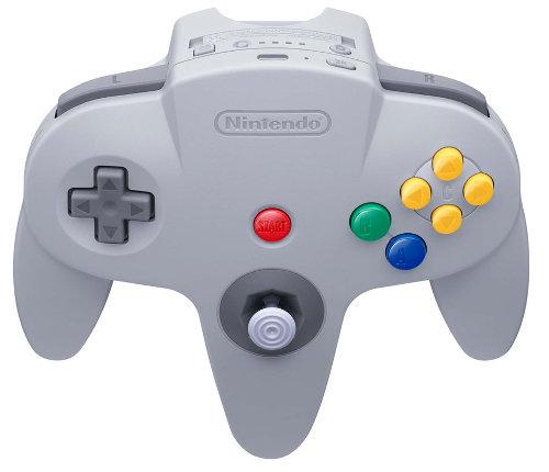 ニンテンドースイッチ用のニンテンドウ64コントローラーは、画像を見ると分かるように、上の真ん中の部分に新たなボタンがいくつか追加