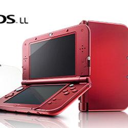 Newニンテンドー3DS LL メタリックレッドの新色が発売決定