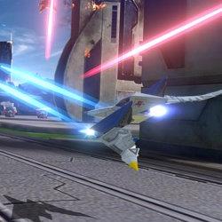 WiiU「スターフォックス ゼロ」は、アミーボへの対応あり
