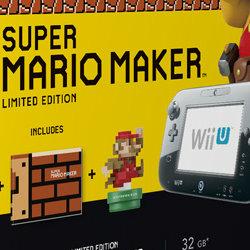 スーパーマリオメーカー、WiiU本体の同梱版が海外で発売予定