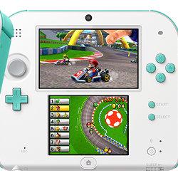 ニンテンドー2DS、アメリカで99.99ドルに値下げ。「マリオカート7」付き