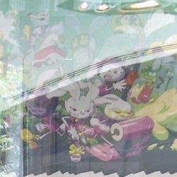 スプラトゥーンの貴重なイラストや設定資料がニンテンドーワールドストアに展示。ウサギ時代も登場