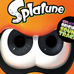 「Splatoon ORIGINAL SOUNDTRACK Splatune」のCD。収録曲とジャケット