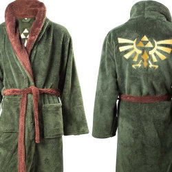 「ゼルダの伝説」のバスローブが発売される