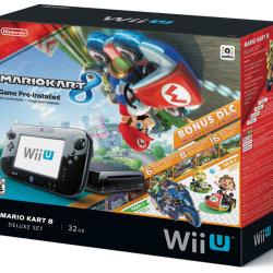 マリオカート8のDLCも付属した、WiiU本体同梱版がアメリカ