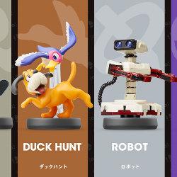 ミュウツー、ロボット、ダックハント、Mr.ゲーム&ウォッチのアミーボの発売日が決定