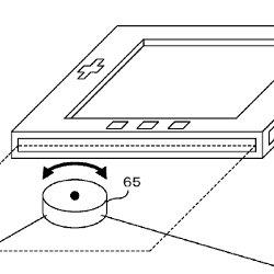 任天堂が新型の携帯ハードで使うかもしれない、スペースポインター、側面タッチとスライドの特許など