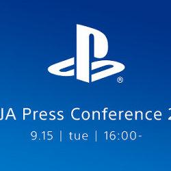 新情報が発表される「SCEJA Press Conference 2015」、9月15日(火)16時から放送
