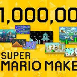スーパーマリオメーカー、発売1週間で、投稿されたコースが100万を超える