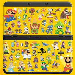 ヨッシーのビッグamiibo、3DS本体パック、きせかえプレート(スーパーマリオメーカー、どうぶつの森、マリオ花札)など、予約が開始