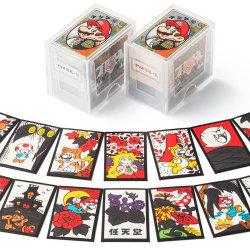 マリオ花札(赤 黒)が発売予定。クラニン版とは少し違うオリジナルデザインに