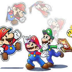 3DS「マリオ&ルイージRPG ペーパーマリオMIX」の発売日が決定