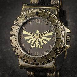 ハイラルの紋章が描かれた「ゼルダの伝説ウォッチ」が海外で