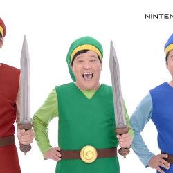 3DS「ゼルダの伝説 トライフォース3銃士」、ダチョウ倶楽部によるCMが公開