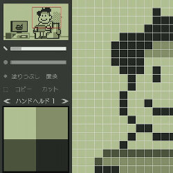 WiiU「ドットペイント」、ゲームボーイ風のイラストなどを作成可能なお絵かきソフト登場