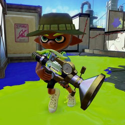 スプラトゥーン、新武器「ボールドマーカーネオ」登場。ポッキーの日だから竹が来る予想が外れる