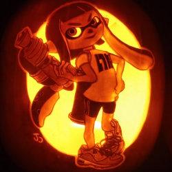 「スプラトゥーン」のハロウィーンかぼちゃランタンのクオリティがすごい