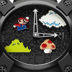 スーパーマリオ30周年記念の腕時計が登場。価格は約230万円と超高額に