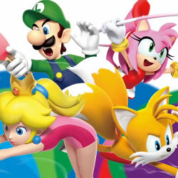 マリオ&ソニック AT リオオリンピック、3DS版の紹介映像公開。ソニックのアミーボにも対応