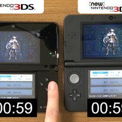モンハンクロス、New 3DSでプレイすると処理速度が上がって