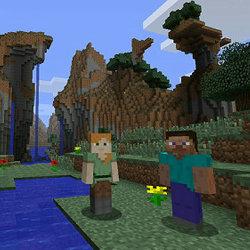 マインクラフト WiiU、オンラインは8人、オフのローカルは4人プレイまで対応