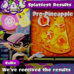 スプラトゥーン、ピザのパイナップル「あり vs なし」フェスの結果が発表