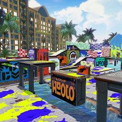 スプラトゥーン、マヒマヒリゾート&スパの新ステージが登場。プレイ動画も公開