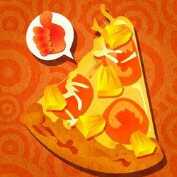 スプラトゥーン、ピザのトッピングにパイナップルは「あり vs なし」のフェス