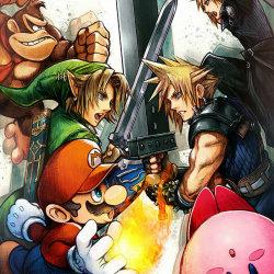 スマブラ 3DS WiiU、最後の参戦キャラ「カムイ」「ベヨネッタ」。ジーノはMii衣装に