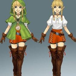 3DS「ゼルダ無双 ハイラルオールスターズ」設定資料集に掲載のリンクル設定画が公開