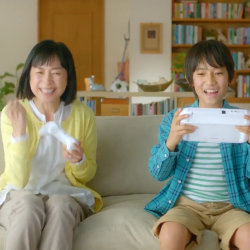 WiiUマリオテニス ウルトラスマッシュ、西田尚美さん出演のテレビCM