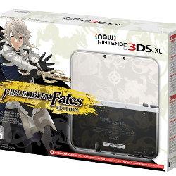 ファイアーエムブレムifのNew 3DS LLが北米で。白夜 暗夜のイメージで内部も白と黒に