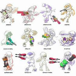 スプラトゥーン、最後の武器の追加が発表。全部で74種類に