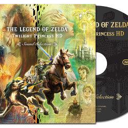 ゼルダの伝説 トワイライトプリンセス HD、特典のサントラCDのカッコいい海外版ジャケットが公開