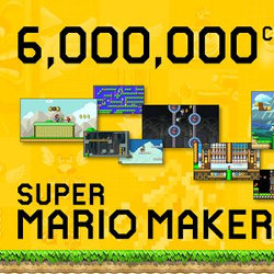 スーパーマリオメーカーは、620万コースが作られ、プレイ回数4億回以上。サービスの拡充も